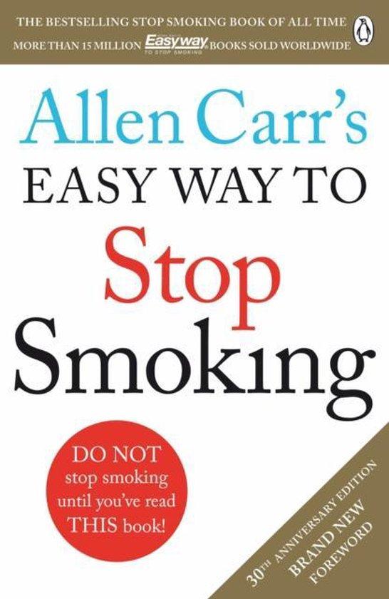 Boek cover Allen Carrs Easy Way to Stop Smoking van Allen Carr (Paperback)