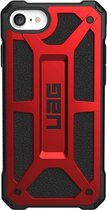 UAG Monarch Backcover iPhone SE (2020) / 8 / 7 / 6(s) hoesje - Rood