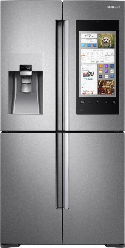 Amerikaanse koelkast: Samsung Family Hub RF56M9540SREF - Amerikaanse koelkast, van het merk Samsung