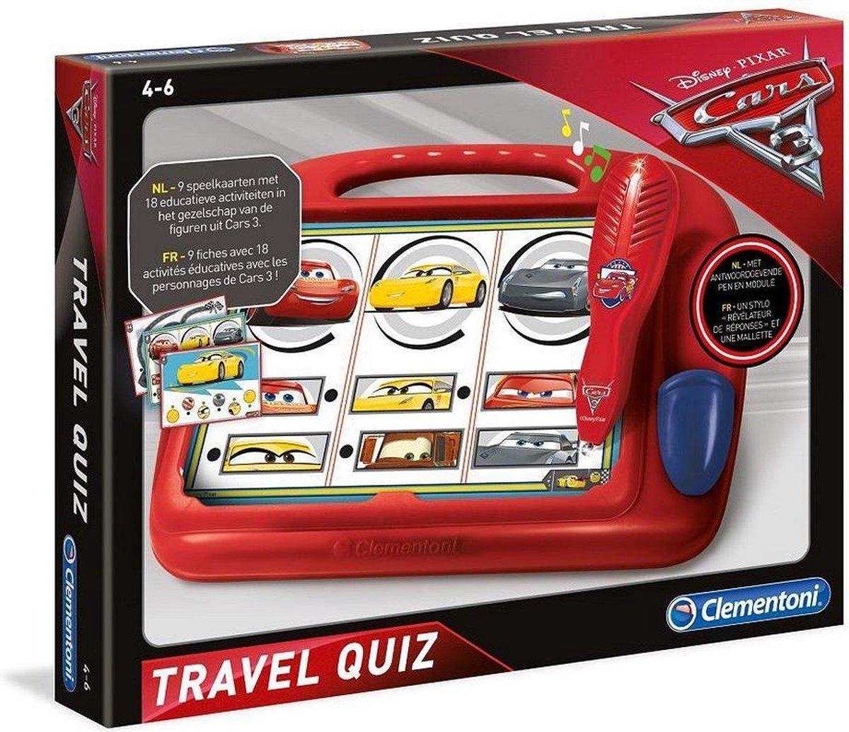 Clementoni Cars 3 Travel Quiz