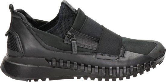 Ecco Zipflex heren sneaker - Zwart - Maat 42