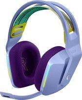Logitech G733 LIGHTSPEED Lichtgewicht Draadloze Gaming Headset met DTS Headphone:X 2.0 Surround - Lila