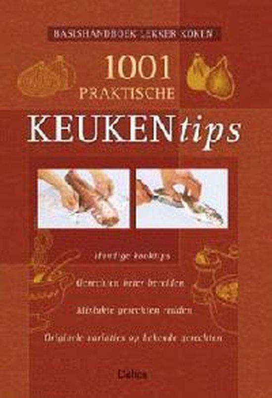 Cover van het boek '1001 praktische keukentips'