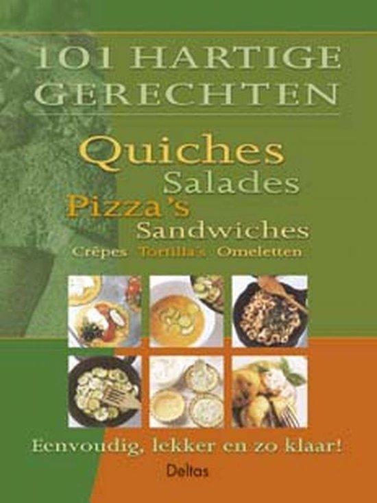 Cover van het boek '101 hartige gerechten'