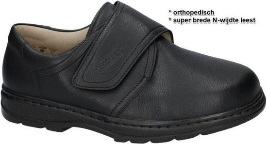Solidus -Heren -  zwart - comfort/orthoped - maat 42