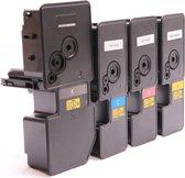 Toner cartridge / Alternatief voordeel pakket Kyocera TK5230 zwart, rood, geel, blauw | Kyocera Ecosys M5521cdn/ M5521cdw/ P5021cdn/ P5021cdw