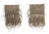 Hangende mat palm blad 65x80cm