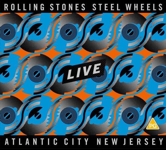 CD cover van Steel Wheels Live (2CD/Blu-ray) van The Rolling Stones