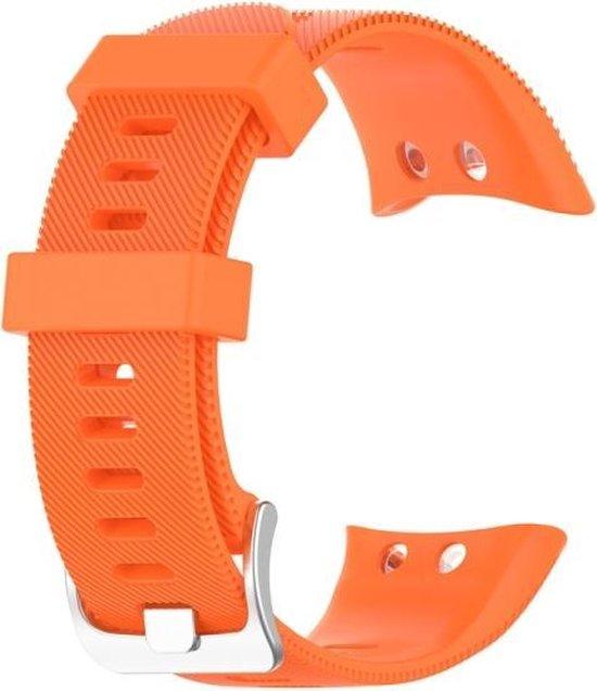 Let op type!! Voor Garmin Forerunner 45 & 45S siliconen band(oranje)