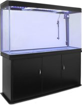 Aquarium Fish Tank & Cabinet - Black