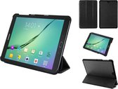 Samsung Galaxy Tab S2 9.7 Slim-fit extra luxe hoesje, Case met Trifold cover en auto-sleepfunctie