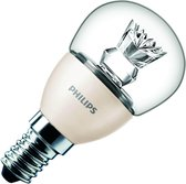 Philips MASTER LED Lamp E14 Fitting - 6-40W - P48 - DimTone - 48x95 mm - Dimbaar - Warm Wit