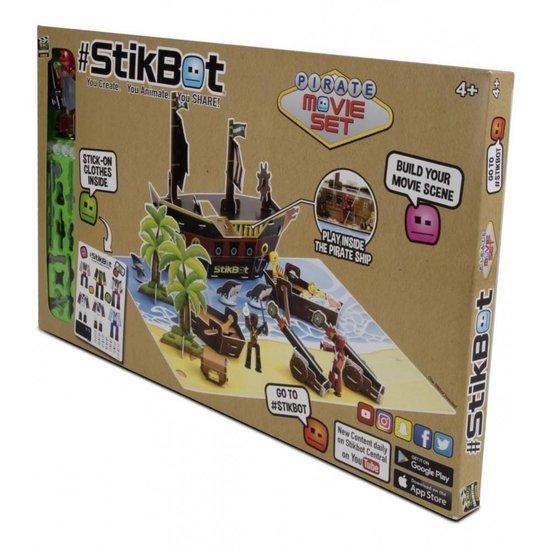 Thumbnail van een extra afbeelding van het spel Stikbot Movie Set Pirates