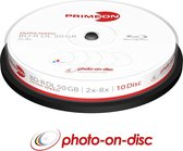 Primeon 2761312 50GB BD-R DL Lees/schrijf blu-ray disc