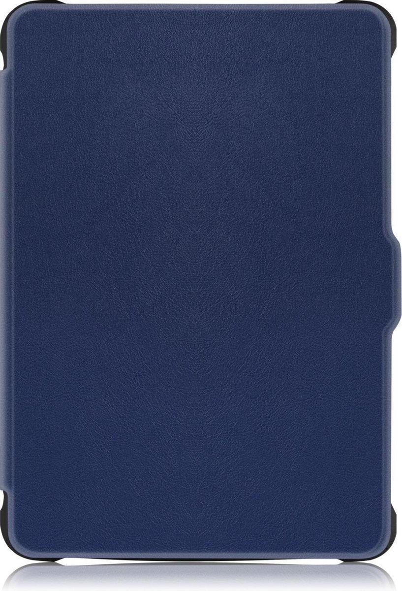 Kobo Clara HD hoes - Tri-Fold Book Case - Donker Blauw