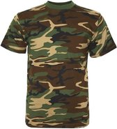 Fostee camouflage t-shirt woodland camo