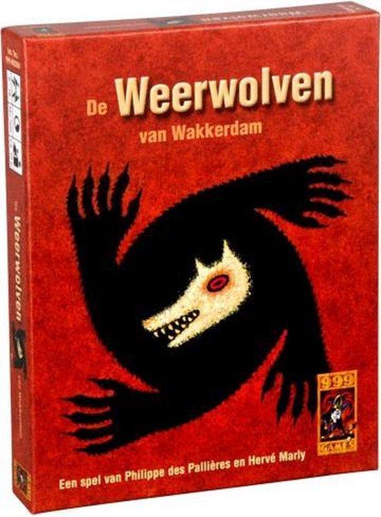 Weerwolven van Wakkerdam - Kaartspel - Partyspel - 999 Games
