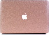 Lunso - cover hoes - MacBook Air 13 inch (2010-2017) - glitter roze