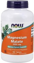 Magnesium Malate 1000mg Now Foods 180tabl