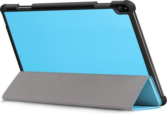 3-Vouw sleepcover hoes - Lenovo Tab P10 - Lichtblauw
