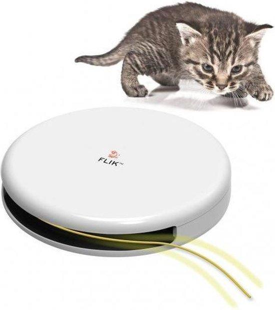 FroliCat Flik - Automatische Kattenplager - Kattenspeelgoed