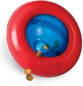 Kong Gyro Voerbal Rood / Blauw - SMALL 12.5X12.5X7.5 CM