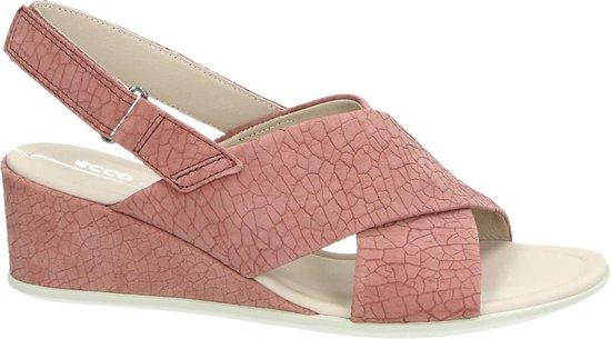 Ecco Shape 35 Wedge Dames Sandaal - Roze Maat 39 C7NYZg
