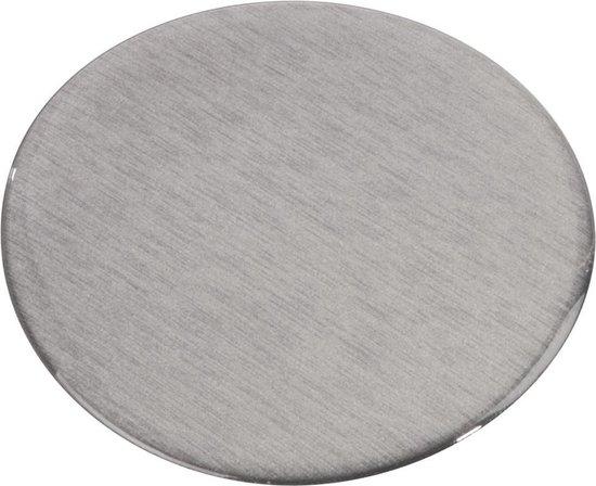 Hama zelfklevende adapterplaat voor zuignapbeugel - Zilver