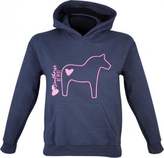 PFIFF Kinder-Pullover Soulhorse 128/140 Blauw