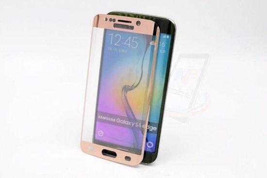 Samsung Galaxy S6 Edge - Glas Screen protectors - Rose Gold (8719273209233)