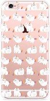 iPhone 6/6S Hoesje Unicorn Cat
