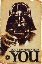 Poster Star Wars -Darth Vader-Empire Needs you- 61x91.5 cm.