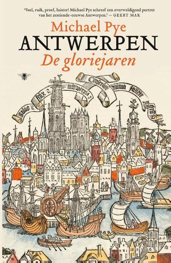 Boek cover Antwerpen van Michael Pye (Hardcover)