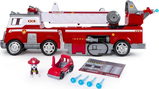 PAW Patrol Ultimate Rescue Brandweerwagen - Speelgoedvoertuig