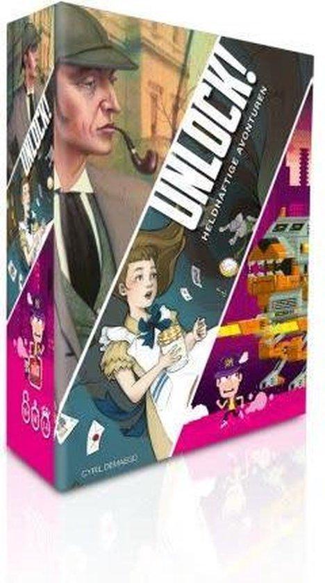 Unlock! 5: Heldhaftige Avonturen - Escape Room Spel