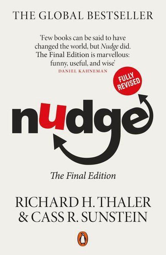 Boek cover Nudge van Richard H Thaler (Onbekend)
