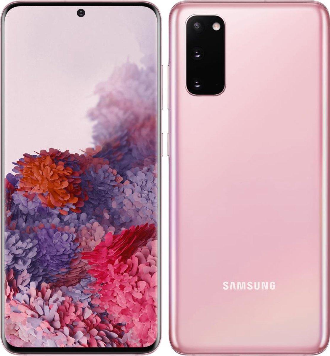 Samsung Galaxy S20 – Alloccaz Refurbished – C grade (Zichtbaar gebruikt) – 128GB – Cloud Lavender