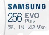 Samsung EVO Plus MicroSDXC  - Geheugenkaart - 256 GB - versie 2021