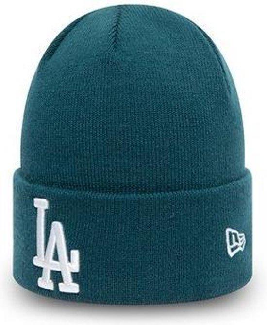 LA Dodgers League Essential Blue Cuff Beanie Muts