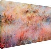 Holi festival Canvas 120x80 cm - Foto print op Canvas schilderij (Wanddecoratie woonkamer / slaapkamer)