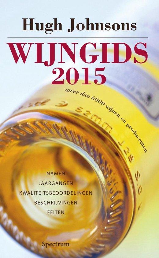 Cover van het boek 'Hugh Johnsons wijngids  / 2015'