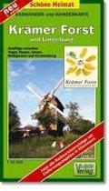 Krämer Forst und Umgebung 1 : 35 000. Radwander- und Wanderkarte