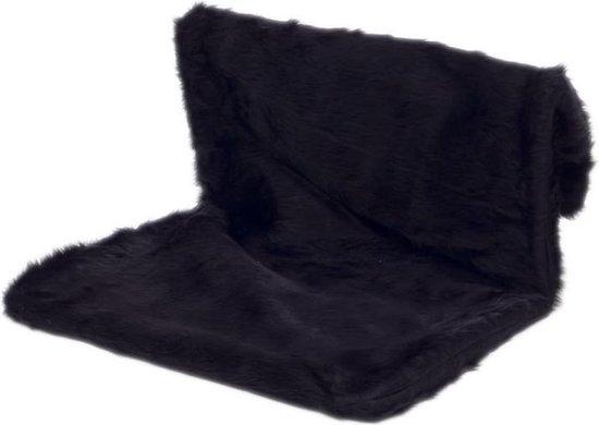 Comfort-Kussen Radiator hangmat Teddy zwart