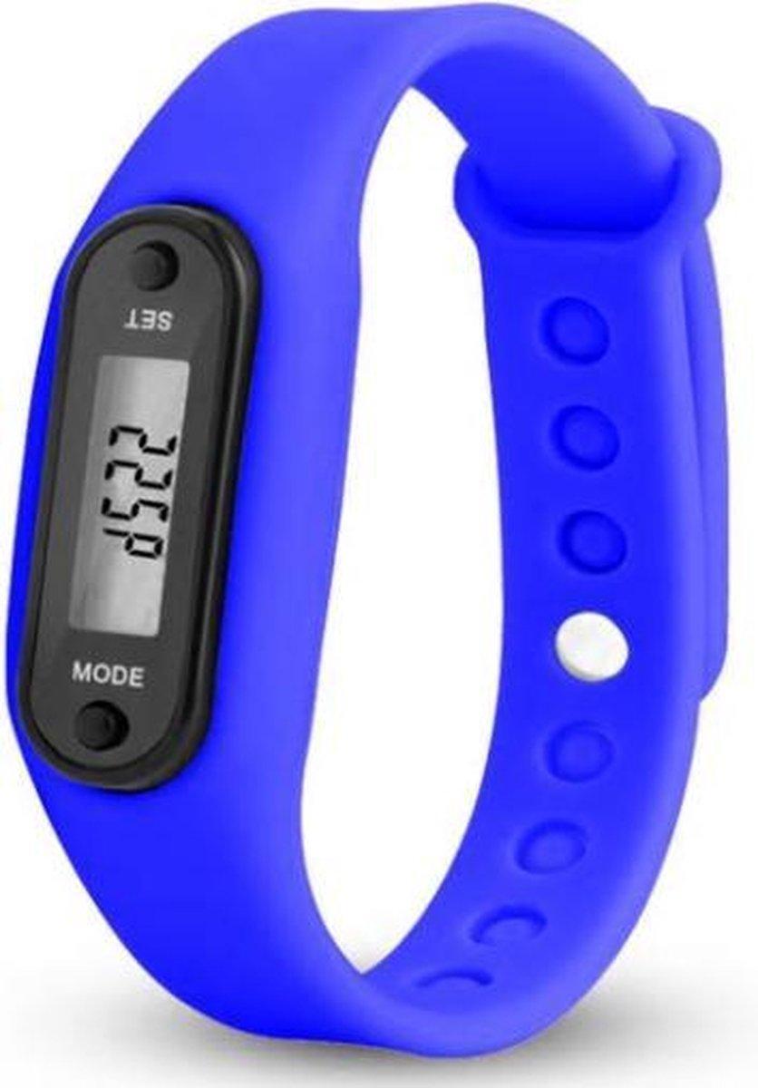 Sport horloge blauw - Merkloos