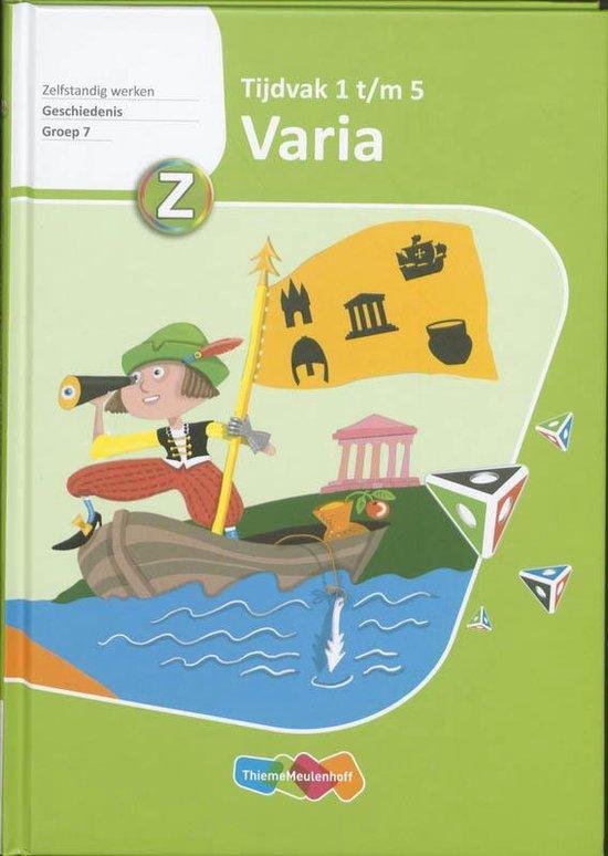 Varia Geschiedenis - Karin Janssen |