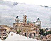 Het oude Rome Tuinposter 200x100 cm - Tuindoek / Buitencanvas / Schilderijen voor buiten (tuin decoratie) XXL / Groot formaat!