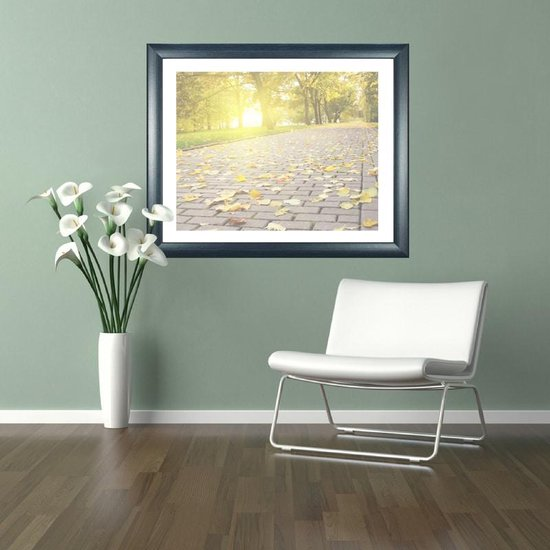 Homedecoration Colorado – Fotolijst – Fotomaat – 28 x 31 cm – Donker blauw