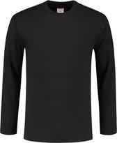 Tricorp t-shirt lange mouw - Casual - 101006 - zwart - maat XXL