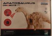 Lopende 3D Apatosaurus Houten Puzzel met sound control