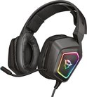 Trust GXT 450 Blizz | 7.1 Gaming Headset | RGB verlichting | PC | Surround sound | USB | Zwart